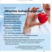 Wrocław testuje Medyków