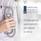 Akcja #Wrocław testuje Medyków dobiegła końca
